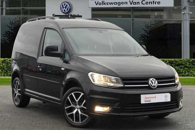 Volkswagen Caddy 2.0 TDI (102PS) C20 BMT Panel Van BLACK EDITION