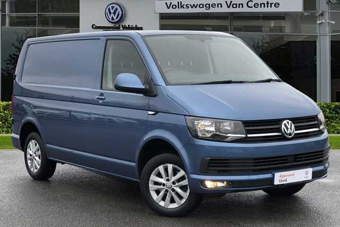 Volkswagen Transporter T28 Panel Van Highline SWB EU6 102 PS 2.0 TDI BMT 5sp Manual
