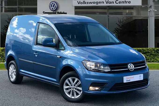 Volkswagen Caddy C20 Panel van Highline SWB EU6 102 PS 2.0 TDI BMT 5sp Manual