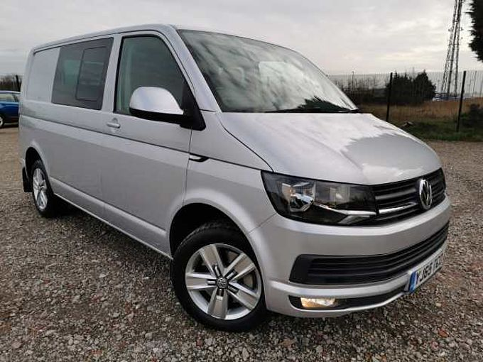 Volkswagen Transporter T32 Swb Diesel 2.0 BiTDI BMT 180 PS Highline Kombi Van - REAR PARKING HEATER
