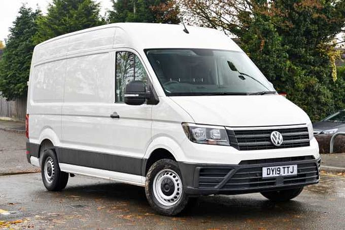 Volkswagen Crafter Cr35 Mwb Diesel 2.0 TDI 140PS Startline Hi-Roof Van BUSINESS PACK
