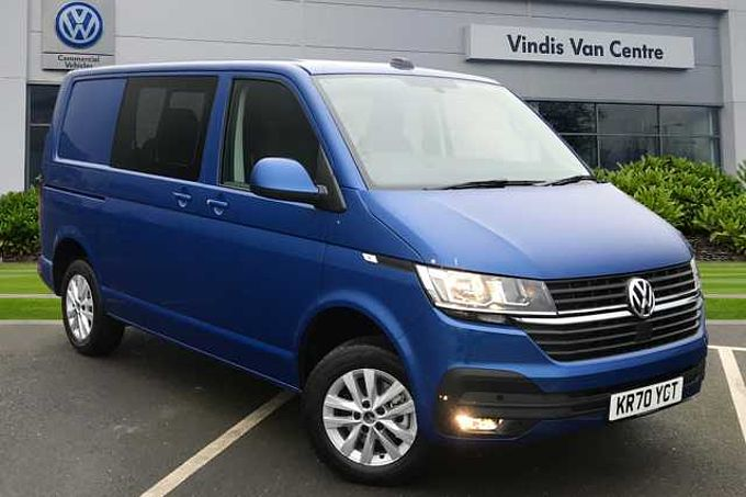 Volkswagen Transporter T30 Kombi Highline SWB 150 PS 2.0 TDI 6sp Manual