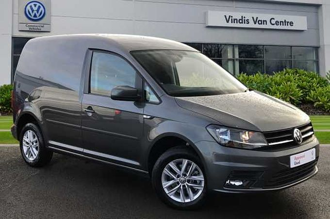 Volkswagen Caddy Panel van Highline SWB 102 PS 2.0 TDI 5sp Manual