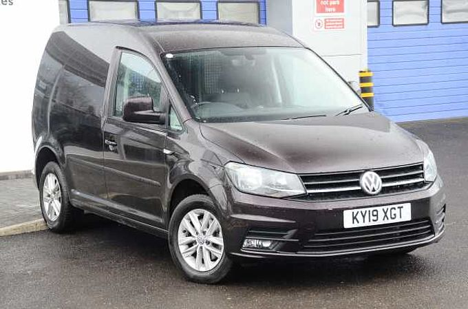Volkswagen Caddy C20 Diesel 2.0 TDI BlueMotion Tech 102PS Highline Nav Van DSG