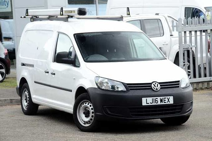 Volkswagen Caddy Maxi 1.6 TDI (102PS) C20 Startline Panel Van for only £8990!