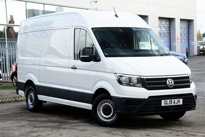 Volkswagen Crafter Cr35 Mwb Diesel 2.0 TDI 140PS Startline High Roof Van Business Pack