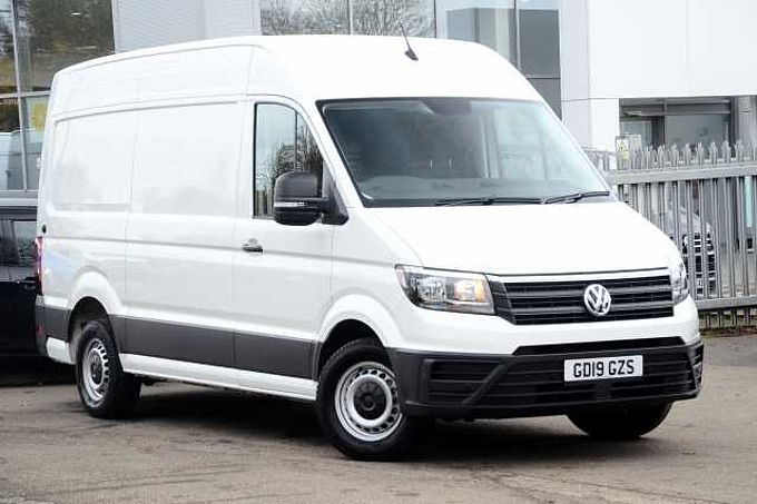 Volkswagen Crafter Cr35 Mwb Diesel 2.0 TDI 140PS Trendline High Roof Van Business Pack