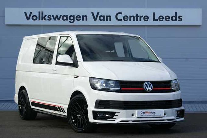 Volkswagen Transporter 2.0TDI 150PSEu6 T30 Highline SWB *FULL LEATHER*SPORTS STYLING KIT*