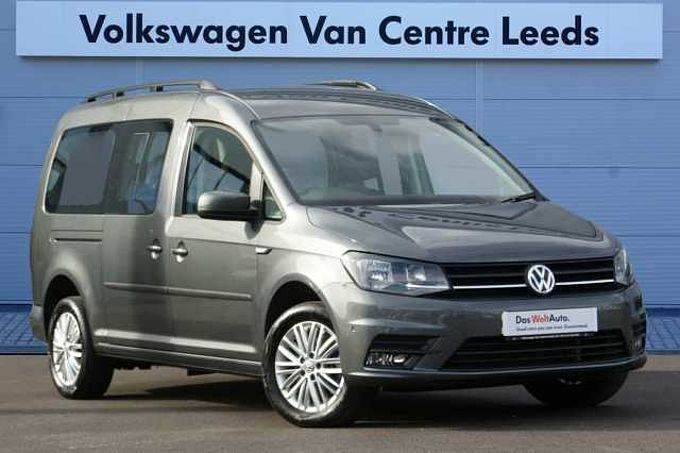 Volkswagen Caddy Maxi Life C20 Diesel Estate 2.0 TDI 150 5dr DSG *SAT NAV*FRONT & REAR PARKING SENSORS*